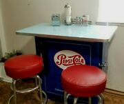 Pepsi Cola Soda Fountain Diner Lunch Counter Bar Ideal Cooler Restored Machine