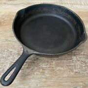 Vintage Griswold Cast Iron 9 A 11 1/4 Inch Skillet Small Block Logo 1950-1959