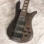 Spec Euro 5lxt Black Stain Gloss Used Electric Bass