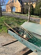Ww2 Helicopter Stretcher Gurney Coffin Helicopter Lift Basket Metal Box