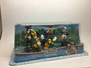 Disney Store Mickey Mouse Clubhouse Figurine Playset Train Depot Engineer Mickey