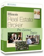 Illinois Real Estate Broker Pre-license Topics, 2nd By Hondros Learning