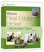 Illinois Real Estate Broker Pre-license Topics, 3rd By Hondros Learning