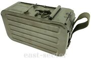 X4 Metal Transport Can Case Box Container Russian Soviet Army Pkm Pk Pks