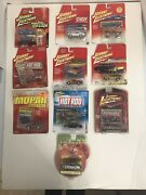 Lot Of 10- Johnny Lightning And Motor Max -new In Package -die Cast Cars