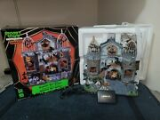 Vampire Bat Aviary - 2011 Lemax Spooky Town 15192 - Retired - Excellent Cond.