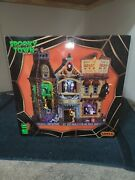 Grim Reaperand039s Department Store - 2013 Lemax Spooky Town -brand New Nrfb- Retired
