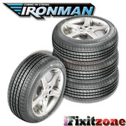 4 Ironman Rb-12 Rb12 Nws 225/75r15 102s White Wall All Season Performance Tires