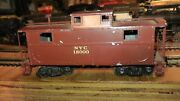 Prewar Oo Scale Craft All Metal Caboose Nyc New York Central Made In America Usa