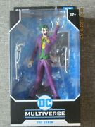 Mcfarlane Toys Dc Multiverse=the Joker Action Figure=only One On Ebay Like This.