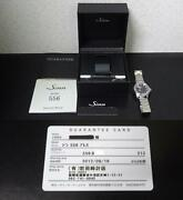Sinn 556 Automatic Date Watch Menand039s 38.5mm Ss Black Authentic With Box And Papers
