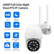 Hd Wifi Ip Camera Cctv Security Wireless Smart Ir Night Vision +3m Cable Outdoor