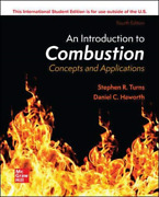 Turns Stephen-ise An Introduction To Combustion Concepts And Applica Book Neuf