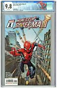 Non-stop Spider-man 1 Cgc 9.8 1st First Print Edition David Finch Cover