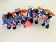 Fisher Price Rescue Heroes Flight Team Action Figure Set