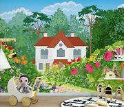3d Tree House Zhu911 Wallpaper Wall Mural Removable Self-adhesive Zoe