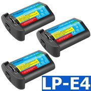 Lp-e4 3300mah Camera Battery Charger For Canon Eos-1d Mark Iv Eos-1ds Mark Iii