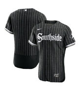Chicago White Sox Authentic Southside Nike City Connect Edition Black Jersey- 48