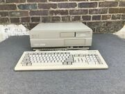 Commodore Amiga 2000 A2000 Computer With Cards And Keyboard