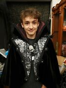 Morgue Sale Halloween Kathleen's Collection Sorceress Cape Retired 2015 Mint