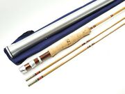 Vintage Herters Bamboo Fly Fishing Rod. 8' 6wt. Made In England.
