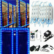 10200ft 5050 Smd Blue 3 Led Module Club Store Front Window Light Sign Lamp Kits