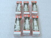 S9 Genuine Champion Rf11yc Spark Plugs Set Of 6 Oem New Factory Boat Parts