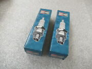 S15 Genuine Champion 955 Xc12pepb Spark Plugs 2 Pack Oem New Factory Boat Parts