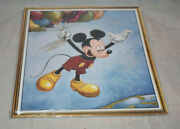 D23 Magazine Fall 2016 Mickey With Balloons Artwork Cover Sealed