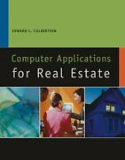 Computer Applications For Real Estate California Real By Ed Culbertson Vg+
