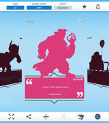 Topps Disney Collect - Daily Disney August 14 - John Silver Silhouette Digital