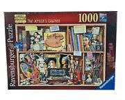 Ravensburger Puzzle The Artistand039s Cabinet Collection One 1000 Piece 27 X 20