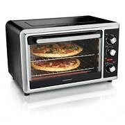 Hamilton Beach Countertop Oven With Convection And Rotisserie Bake Broil 31105d