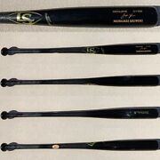Milwaukee Brewers Christian Yelich 2019 Game Used Uncracked Ls Bat