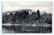 Bluff Home From Delaware River Milford Pa Pennsylvania 1911 Postcard B5