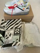 Nike Air Max 90 And039 Off-white Andtrade And039 - Sail/white-muslin -size 11 Brand New Deadstock