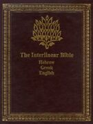 Interlinear Bible Hebrew/greek/english By Jay P. Green - Hardcover Excellent