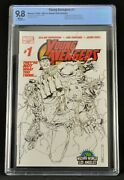 Young Avengers 1 Wizard World La Sketch Cover Cbcs 9.8 1st Kate Bishop Key