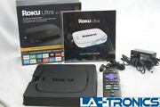 Roku Ultra 4661r 4k Hd Hdr Streaming Media Player Voice Remote