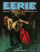 Eerie Archives Volume 9 By Various - Hardcover Excellent Condition