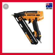 Bostitch 15ga Finish Air Smartpoint Nailer Integrated Air Blower Oil Free Engine