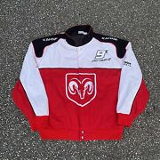 Vintage Nascar Racing Jacket Kasey Kahne Pit Crew Embroidered Patches Size Xl