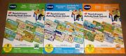 Vtech Touch And Learn Activity Desk Deluxe Expansion Packs Lot 3 Animals Numbers +