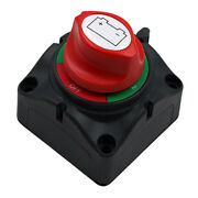 Dual Battery Selector Switch Shut Isolator 3 Speed Marine Boat On-off 60a