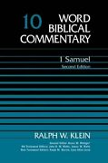 Word Biblical Commentary 1 Samuel By Ralph W. Klein - Hardcover Mint Condition