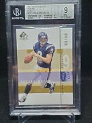 2001 Sp Authentic Drew Brees Future Watch Gold /100 Bgs 9 Rc Rookie