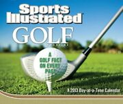 Sports Illustrated Golf 2013 Day-at-a-time Box Calendar By Dateworks Brand New