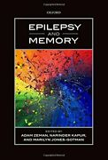 Epilepsy And Memory By Adam Zeman And Narinder Kapur - Hardcover Brand New