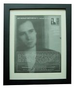 Jeff Buckley+sketches Sweetheart+poster+ad+original 1998+framed+fast Global Ship
