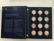 1970 90 America In Spce Sterling Silver Proof Set Silver Asw 19.4ozt Of Pure S